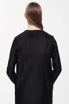 COS+|+Sheer+back+panel+dress