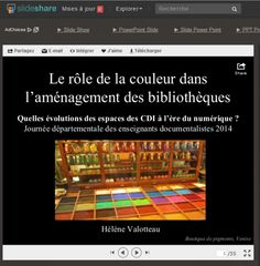 Le rôle de la couleur dans l'aménagement de bibliothèques : Quelles évolutions des espaces des CDI à l'ère du numérique ?