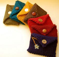 Monederos de lana