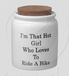 Want this jar to stash my new tri bike fund money in!