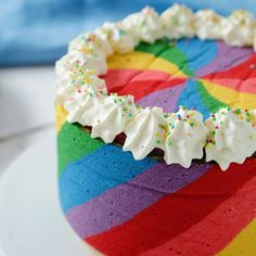 Rainbow Pinwheel Cake Rule You never need an excuse to bake a cake. What are rules 2 & The post Rainbow Pinwheel Cake & Rezepte appeared first on Food . Food Cakes, Cupcake Cakes, Cupcakes, Cake Cookies, Baking Recipes, Cake Recipes, Dessert Recipes, Baking Ideas, Appetizer Recipes