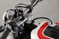 Yamaha XS650 flat tracker