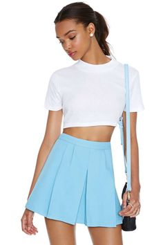 this skirt is the perfect color