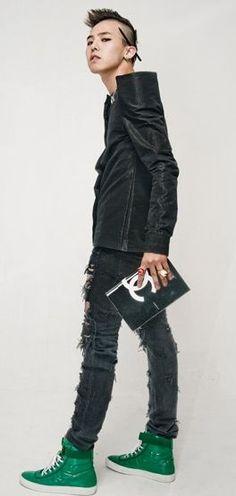 Listen to Kwon Ji-Yong (a.k.a. G Dragon) - an amazingly talented Korean artist  -yes he is >.<