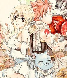 Natsu, Lucy, and Happy (Fairy Tail) A true Villian: Photo