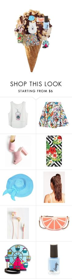 """""""Totally worth the money #summerlove"""" by dreaming-of-life ❤ liked on Polyvore featuring interior, interiors, interior design, home, home decor, interior decorating, Jeremy Scott, Missguided, Kate Spade and Betsey Johnson"""