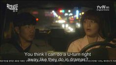 Are there never any cops out patrolling the roads?   21 Reasons Korean Dramas Are Ridiculously Frustrating