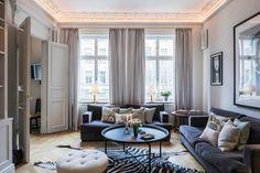 A Parisian Styled Scandinavian Apartment