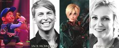 Disney Characters and their voice actor/actresses
