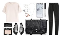 """""""TOP HANDLE LEATHER MESSENGER BAG"""" by eva-jez ❤ liked on Polyvore featuring Zero Gravity, Monki, NARS Cosmetics, Brunello Cucinelli, Acne Studios, AG Adriano Goldschmied, messengerbag, LeatherBag, stylemoi and tophandlemessengerbag"""