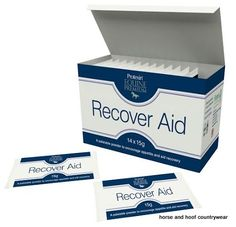 Protexin Recover Aid Palatable powder to aid reocvery following strenuous exertion a long journey or a virus Can be used as a pre race competition boost.