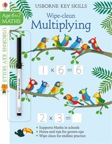 Wipe Clean Multiplying 6 7 New For June 2017 Cleaning Wipes Usborne Books Wipes