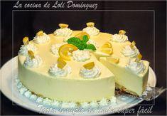 La cocina de Loli Domínguez: Tarta semifrío de limón súper fácil