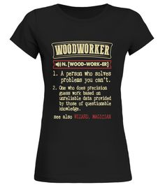 woodworker Woody T-shirt