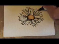 Distress Marker Basic Watercoloring.m4v By Jen Shults  #Tutorials