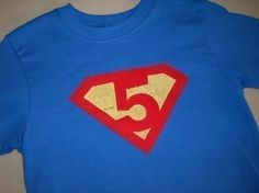 Birthday Shirt Idea This Really Only Works With 5 Cause Its The
