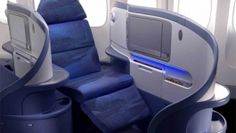 A350 Airbus First Flight Photos Seat Cabin