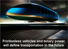 ... , transportation technology is about to move ahead more rapidly in the coming years with the advent of two radically new technologies – frictionless vehicles and binary power. Description from futuristspeaker.com. I searched for this on bing.com/images