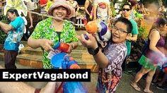 SONGKRAN WATER FESTIVAL - Chiang Mai, Thailand