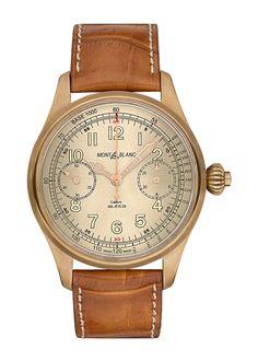 Montblanc 1858 Chronograph Tachymeter LE - front