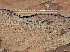 Fossilized soil believed to be found on Mars.