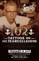 Sailor Jerry's Birthday Celebration in Chicago and New York on January 14th