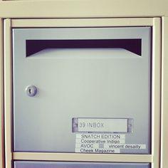 Quand une boîte aux lettres (même commune) devient un objet de réjouissance #cheekmagazine #cheek