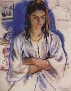 The Jewish girl from Sefrou  - Zinaida Serebriakova