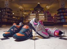 Harrods x New Balance 574 Collection