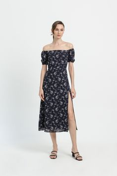 Shop effortless, minimalist & modern ready-to-wear here. We make quality & affordable fashion since We ship worldwide. Navy Floral Dress, Modern Minimalist, Affordable Fashion, Ready To Wear, Spring Summer, How To Wear, Clothes, Shopping, Dresses