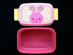 Products From Japan With Love: Rabbit  1 Tier Bento Box  Pink   | eBay