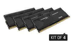 HyperX'ten Yüksek Kapasiteli DDR4 Predator ve Savage RAM Kit'leri