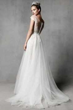 Watters Farah Style 5010B- Blush Bridal