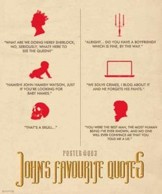 Johns favorite quotes poster 3