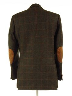 Tweed Jackets, Elbow Patches, Tan Leather, Burberry, Vintage Outfits, Men Sweater, Fabric, Sleeves, Sweaters