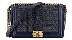 Boy Chanel Large Flap Bag in Braided Sheepskin with Gold Metal