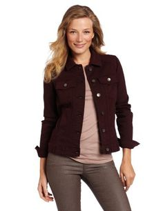 KUT from the Kloth Women's Colored Denim Jacket KUT from the Kloth. $42.20. Comfortable. Fuller Fit. Made in China. Machine Wash. 98% Cotton/2% Spandex