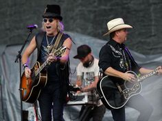 Big and Rich perform at the Back Porch Revival concert