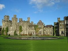 Ashford Castle in Ireland - enjoyed afternoon tea; maybe one day we will spend at least one night!