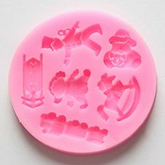 "Doll Puppet Bear Train Fondant Sugarcraft Chocolate Soap Silicone Mold DIA 2.9"" Generic http://www.amazon.com/dp/B00NLVPS98/ref=cm_sw_r_pi_dp_jxJiub0WSGEV0"
