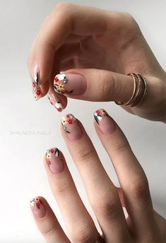 63 Cute Nail Designs for Every Nail Length & Season: Cute Na.- 63 Cute Nail Designs for Every Nail Length & Season: Cute Nails to Try - Cute Acrylic Nails, Cute Nail Art, Classy Nail Art, Nails Polish, Gel Nails, Milky Nails, Beauty Nail, Nail Length, Cute Nail Designs