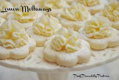 Pink Piccadilly Pastries - Lemon meltaways