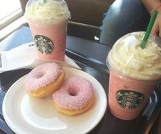 have you ever had pastries at starbucks? Well they're AMAZING so try them!!!!!