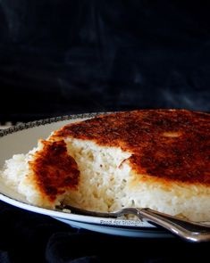 Food for thought: Περσικο ρύζι με καστανή κρούστα Persian Rice, Golden Crust, Lasagna, Ethnic Recipes, Gloves, Racing, Food, Christmas, Running