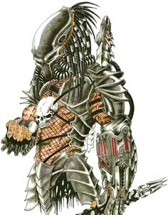 PREDATOR 4 COLOR by ~yacobucci on deviantART