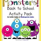 This packet includes: - An introduction story to the Monster Unit- The Day A Monster Came to School - 5 Monster coloring pages to use as morning ...