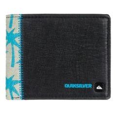 Schwarze #Geldboerse mit Münzfach ab 20,95€ Hier kaufen: http://www.stylefru.it/s524538 #quiksilver #portemonnaie