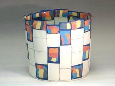 Maria ten Kortenaar ceramic vase - fun design/motif ideas here
