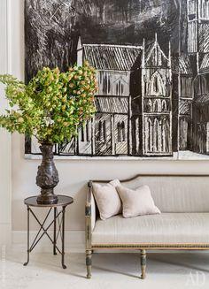 Интерьер в классическом стиле: фото дома в Подмосковье   AD Magazine