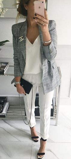 Here is Business Outfit Ideas for you. Business Outfit Ideas what to wear to work in the summer business casual outfits. Business Casual Outfits, Office Outfits, Mode Outfits, Business Fashion, Classy Outfits, Pretty Outfits, Fashion Outfits, Business Chic, Office Wear